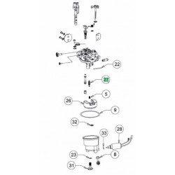 Pointeau de carburateur MTD 751-14036A