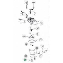 Vis de cuve de carburateur MTD 710-06198