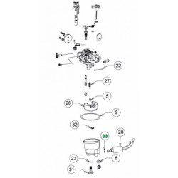 Rondelle pour electrovane de carburateur MTD 736-05077