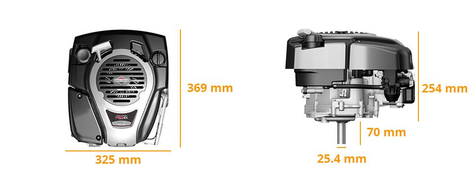 Dimensions DOV 750EX Series