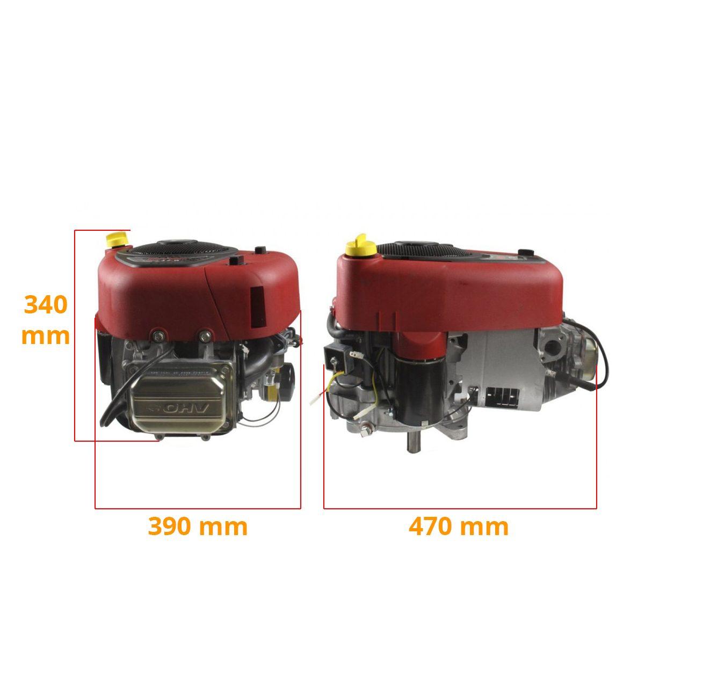 Dimension moteur Briggs Stratton 17hp