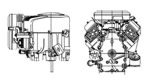 Plan coupe Vertical Vanguard